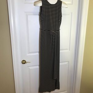 Lauren Ralph Lauren Stripped Maxi Dress